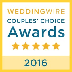 Wedding Wire Couple's Choice Awards 2016 Logo