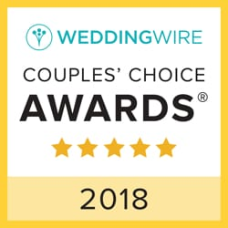 Wedding Wire Couple's Choice Awards 2018 Logo